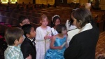 First communion class